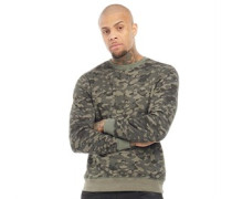 Sweatshirt Grün Tarnfarbe