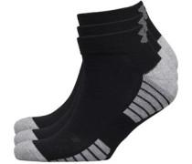 HG HeatGear Tech Low Cut Drei Pack Socken