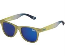 Superfarer Blue Tinted Wayfarer Sonnenbrille Lindgrün