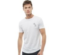 Script Logo T-Shirt Weiß