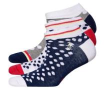 Trainer Liners Socken Navy