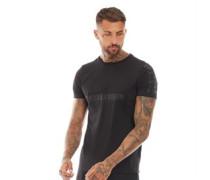 Kalk T-Shirt Schwarz