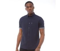 Oxford Hemd mit kurzem Arm Dunkelnavy