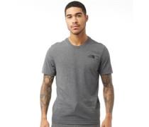 Simple Dome T-Shirt Mittelmeliert