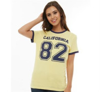 Eighty Two T-Shirt Gelb