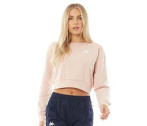 Authentic 222 Banda Bacroy Crop Sweatshirt Hell