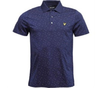 Mens Fil Coupe Polo Navy