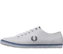 Kingston Leder Sneakers Weiß