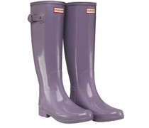 Original Refined Gloss Gummistiefel Flieder