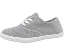 Leinen Schuhe Graumeliert