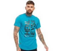 Langar T-Shirt Türkis