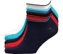 Turin Fünf Pack Sneaker Socken