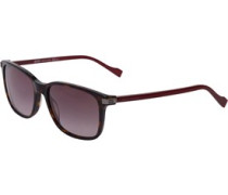 Sonnenbrille Dunkelburgunderrot