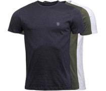 Raul Drei Pack T-Shirt Navy