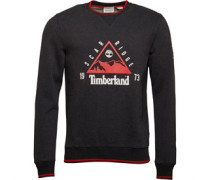Scar Ridge Sweatshirt Navymeliert