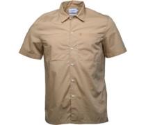 Mens Reynelle Short Sleeve Shirt Light Sand