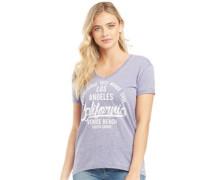 Venice Burn Out T-Shirt meliert