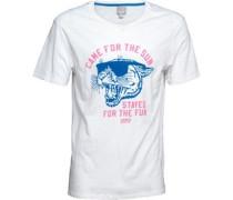 Grafik T-Shirt Weiß
