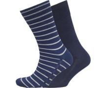 Herren 2 Packung Socken Indigo