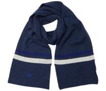 Tipped Schal Blaumeliert