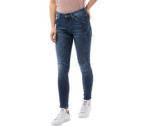 5620 Elwood Ultra High Super Skinny Jeans Dunkel