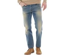 Buster 0845F Jeans mit zulaufendem Bein
