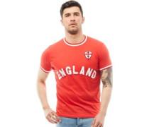 Mens England T-Shirt Red