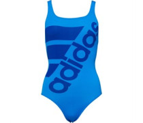 Graphic Performance Badeanzug Blau