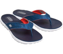 On The GO Flow Heathered 3 Point Zehentrenner Navy