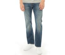 527 Bootcut Jeans Verblasstes Blau