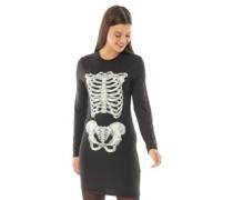 Halloween Horror Kleid Schwarz