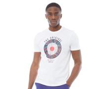 Text Target T-Shirt Weiß