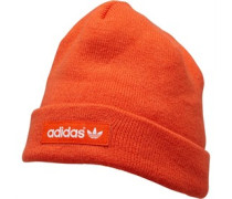 Logo Beanie Mütze Orange