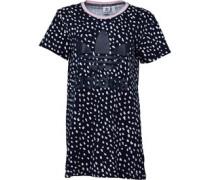 Womens Trefoil Tee Dress Legend Ink/White