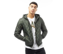 Mens Meefic Hooded Lightweight Jacket Forest Night