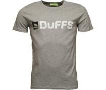 Horizontal Logo T-Shirt Graumeliert