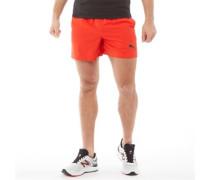 Essentials Gewebte 5 Inch Shorts Rot
