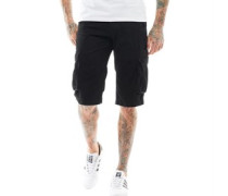 Mens Cargo Shorts Black