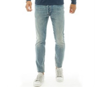 501 Skinny Jeans Verblasstes Blau
