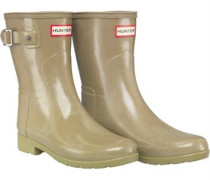 Original Refined Short Gloss Gummistiefel Grün