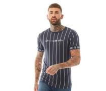 Stiptons CRS55 Streifen T-Shirt Navy