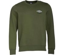 Sweatshirt Olivengrün