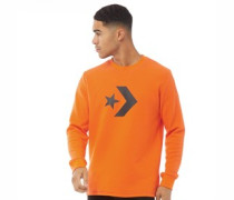 Star Chevron Waffle Sweatshirt