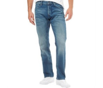 Boxy Dash JJ 005 Jeans mit geradem Bein Verblasstes