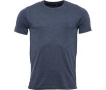 T-Shirt Dunkelblaumeliert