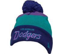 NFL Los Angeles Dodgers Colorblock Beanie Mütze Blaugrün