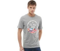 Will T-Shirt Graumeliert