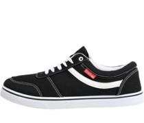 Mens Mohawk Canvas Shoes Black
