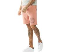 Mens Track Shorts Winter Pink