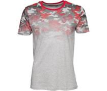 Camo Fade T-Shirt Rot